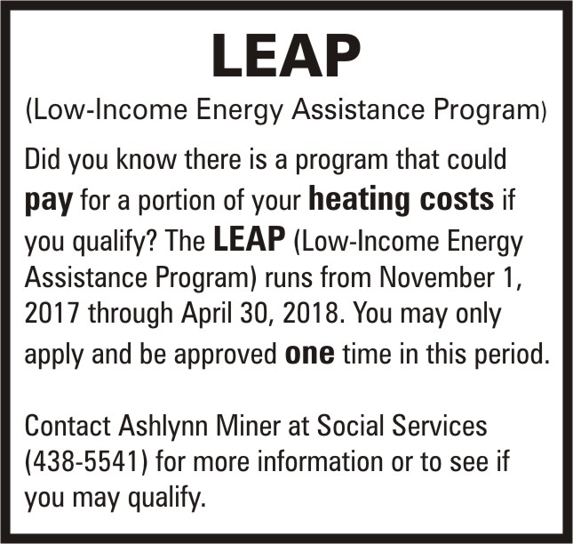 LEAP (Low-Income Energy Assistance Program)